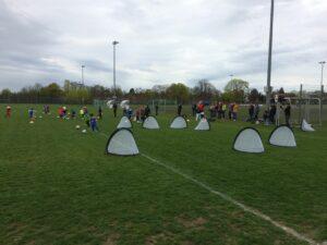 Stern Fußballkindergarten geht wieder los……